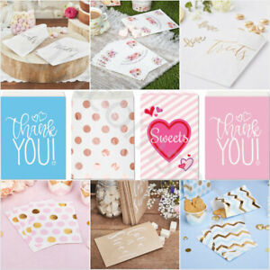 Paper Sweet Bags Candy Treat Party Bags Wedding Birthday Hen Party Favour Bags