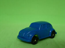 VINYL GUMMI VW VOLKSWAGEN KÄFER BLUE  made in west germany  VERY GOOD CONDITION