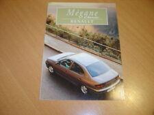 DEPLIANT Renault Megane Classic de 1997