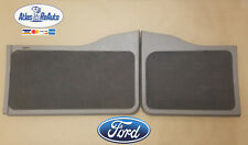 Ford Excursion Rear Barn Door Panels Trim Covers  00-05 Grey Gray