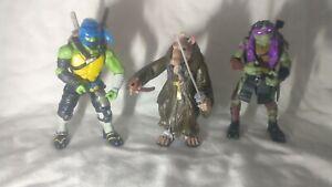 🤖 TMNT:Teenage mutant ninja turtles 2014 movie action figure bundle