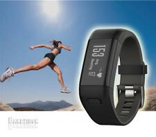 Garmin Vivosmart HR+ HR Plus Reloj GPS HRM Pulsometro Smartwatch Negro XL Ingles