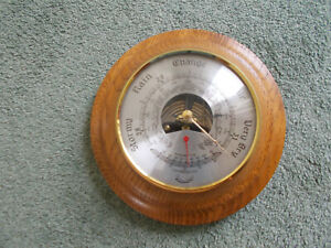 Barometer&Thermometer-For Spares&Repairs-Thermometer Is Working/Barometer Is Not