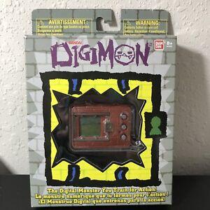 Digimon 20th Anniversary Pocket V-Pet Reprint (Brick Red) - Bandai New/Unopened