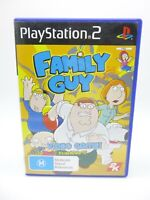 Playstation Ps2 Game Family Guy Video Game Pal AUS Tested Complete CIB