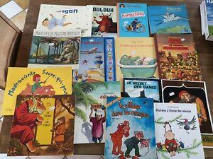 Lot de 15 livres pour enfants super état, idéal pour initiation à la lecture