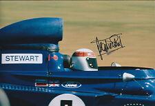 Jackie STEWART SIGNED Autograph Ford TYRRELL World Champion12x8 Photo AFTAL COA