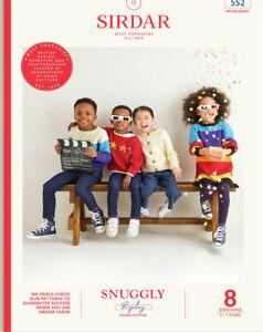 Sirdar Replay Movie Night Book  9 designs Boys & Girls Age 3-7 OUR PRICE: £9.75