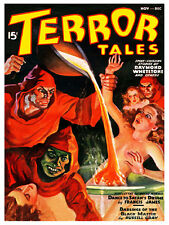 Terror Tales Weird Menace Vintage High Quality Metal Magnet 3 x 4 inches 9460