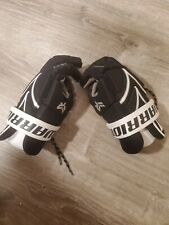 Warrior Rabil Next Black/White Size Small Used Lacrosse Gloves