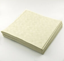 25 x Ivory Cream Paper Table Cover 90x88cm Sheets - Wedding Parties Birthdays