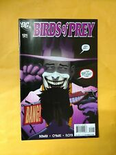 BIRDS OF PREY #121 FIRST PRINT DC COMICS (2008) JOKER