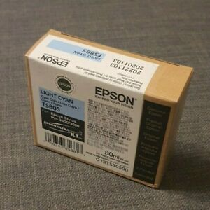 Genuine Light Cyan Ink T5805 for Epson 3800/3880 Quality Ink (New In Box)