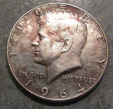 1964P Silver Kennedy Half Dollar, Nice Detail