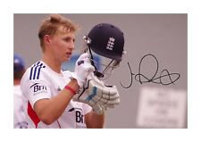 Joe Root (2) A4 signed photograph picture poster. Choice of frame.
