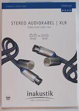 Inakustik premium XLR audio estéreo cable 0,75 m cable XLR nuevo/00405007