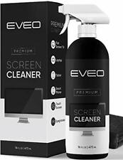Screen Cleaner Spray TV, Computer Laptop Phone, Ipad EVEO, 16 Ounce Bottle