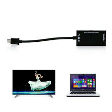 Micro USB to HDMI HDTV MHL Cable A A/V TV For SamSung Sony Adapter Short