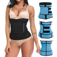 Women's Waist Trimmer Belt Slim Body Sweat Wrap for Stomach Back Lumbar Support