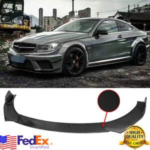 Carbon For Mercedes Benz W205 W204 W212 Brbs Front Bumper Lip Body Kit Spoiler