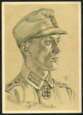 Artist Signed WOLFGANG WILLRICH  13  GERMANY  THIRD REICH  MILITARY  Postcard