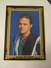 George Breedlove 1993 Pro Billliards Tour, Portrait, Card #40 (MS-12)