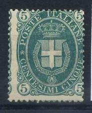 Italia Regno 1889 Sass. 44 Nuovo * 100% Umberto I 5 c.