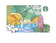 Starbucks Korea Jeju City 2013 Card Rare Limited Collector Sbux Asia Beach Wave