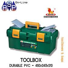 WYNN'S TOOL BOX PLASTIC DURABLE PVC TOOLBOX IDEAL FOR DIY - W450