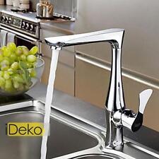 Robinet cuisine design chrome robinet d'envié mitigeur salle de bains rotatif