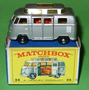 Matchbox / 34 Volkswagen 'High Roof' Camper / Boxed