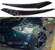 Fits BMW 1 Series F20 PreLift Headlights  Eyebrows ABS PLASTIC, TUNING