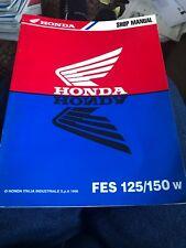 HONDA FES125/150W 1998 WORKSHOP SERVICE MANUAL