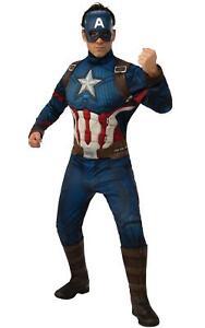 Adult Costume Mens Costumes Captain America Costume Marvel Avengers Fancy Dress