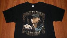 Country Rock BRANTLEY GILBERT Lets Ride Concert T-shirt XL Music mens womens