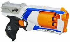 Kids Pistol Toy Nerf N Strike Elite Strongarm 6 Dart Blaster Darts Gun New