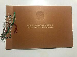 1967 Libro Libretto Francobolli Celebrativi e Commemorativi Italy Italie Italien