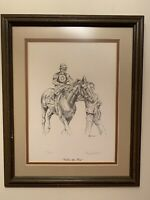 "Tony Oswald ""Call to the Past"" 1979 Kentucky Derby Signed and Framed [343/2000]"
