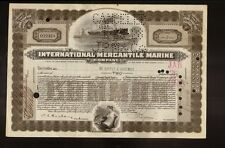 International Mercantile Marine 1927 (Titanic Own) hand sign de Coppet Doremus