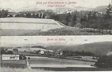 Elstertalbrücke & Eisenbahn bei Röttis, Jocketa, Plauen im Vogtland, Ak um 1910