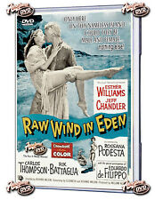 RAW WIND IN EDEN 1958 (DVD) ESTHER WILLIAMS, JEFF CHANDLER-FREE SHIPPING