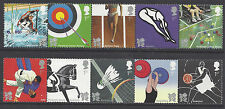 Great Britain 2009 Olympic & Paralympic Games London Horiz Strip of 5 Set