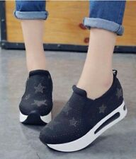 Star Korean Shoes Black (Size 36)
