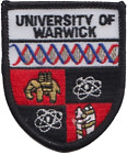 Warwick University Embroidered Patch