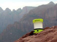 Hybridlight Puc Solar Expandable Lantern/Charger, Yellow. New 150 Lumen