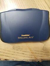 Vintage Franklin Spelling Ace Handheld game