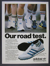 1979 Adidas TRX Competition Running Shoes color photo vintage print Ad