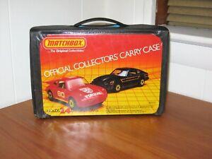 *** VINTAGE 1983 MATCHBOX 24 DIECAST CAR CARRYING CASE  ***