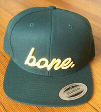 "Whalebone Media Green ""Bone"" Hat,Montauk (NY) Yupoong  Snapback Out of Stock NWT"