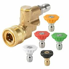 Lovho Pressure Washer Accessories Kit 5 Power Washer Spray Nozzle Tips Quick